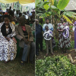 Mh Prof Anna Tibaijuka ashiriki misa ya kumbukumbu ya marehemu Koleta Maliam tarehe 21-12-2015