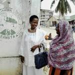 Mh. Prof Anna Tibaijuka akutana na waasisi wa Baraza la wanawake Tanzania Kinondoni Dar es salaam