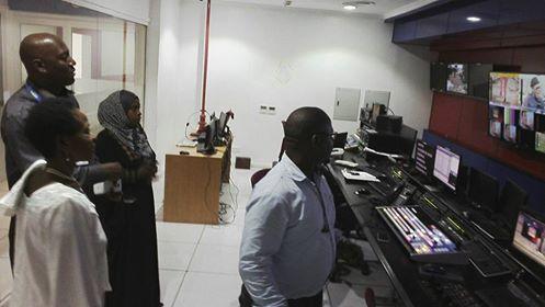Prof Anna Tibaijuka akiwa katika studio za Azam TV