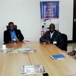 Mh. Prof Tibaijua mbunge wa Muleba Kusini akiwa na mbunge wa Tabora Kaskazini Mh. Almasi Maige jijini Dar es salaam 13-01-2016